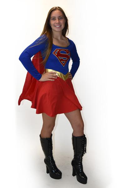 Super Girl Halloween Costume